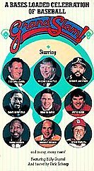 GRAND SLAM!: Mantle-Williams-Aarron-Musial-Bench VHS