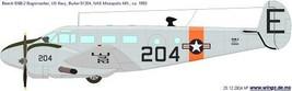 Beech 18d navy gray thumb200