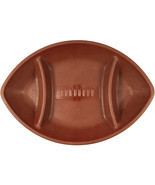 Football 17 x 11 5/8 Inch Chip & Dip Tray/Case of 6 - $37.65