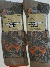 REALTREE  Camoflague MERINO Wool Blend Hunter's Socks, Size 10-13 ,USA - $33.66