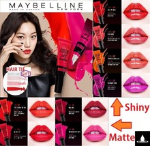 1+1 Maybelline Lip Studio New Color Jolt Intense Lip Paint Gift : Hair Tie Korea - $15.89+