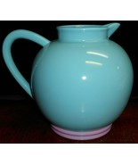 Lindt Stymeist COLORWAYS PATTERN Turquoise / Pink 2.5 QT PITCHER Japan - $49.49