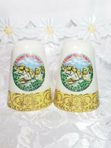 Vintage Mount Rushmore Souvenir Porcelain Salt and Pepper Shakers