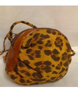 GEORGETOWN LEATHER DESIGN LEOPARD PRINT CROSSBO... - $17.99