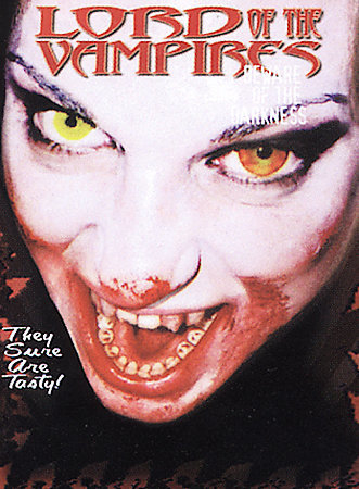 LORD OF THE VAMPIRES: Brad Sykes-Rare Out Print NEW DVD