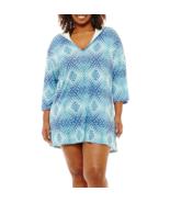 Porto Cruz Diamond Swimsuit Cover-Up Dress Plus Size 1X, 2X Msrp $49.00 - $21.99