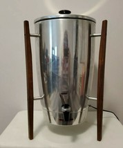 Mid-Century Modern Penncrest Stainless Steel 40-Cup Electric Coffee Perc... - $46.75