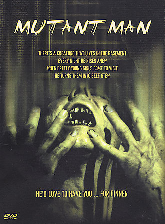 MUTANT MAN: Classic Horror NEW DVD