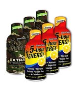 5 Hour Energy, 3 Extra Strength Sour Apple + 3 Orange, 6 Count - $19.99
