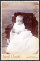 Warren Brown Robbins Cabinet Photo of Baby Hudson MA - George E. Robbins... - $17.50