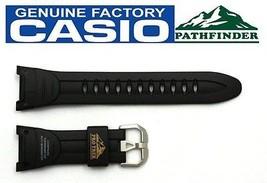 CASIO PRO TREK Pathfinder PRG-50-1 Original Black Rubber Watch BAND Stra... - $31.95