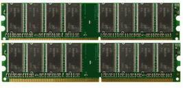 1GB 2x512MB PC3200 DDR-400 184p DIMM Desktop Memory RAM