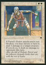 Magic: The Gathering: Fallen Empires - Farrel's Zealot (B) - $0.25