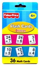 Fisher-Price Flash Cards - Division - $9.89