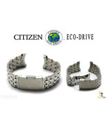 Citizen Eco-Drive Original H144-S067383 23mm Stainless Steel Watch Band  - $129.95
