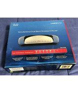Linksys By Cisco WRT400N 300 Mbps 4-Port 10/100 Dual Band Wireless N Router - $8.90