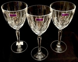Waterford Marquis SPARKLE Crystal Goblet Wine Glasses New W/ Tags Mint S... - $30.00