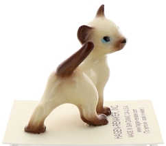 Hagen-Renaker Miniature Cat Figurine Siamese Mama and Papa Chocolate Point image 12