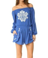 Lovers + Friends Carmella Romper Size Large NWT $180  - $39.59