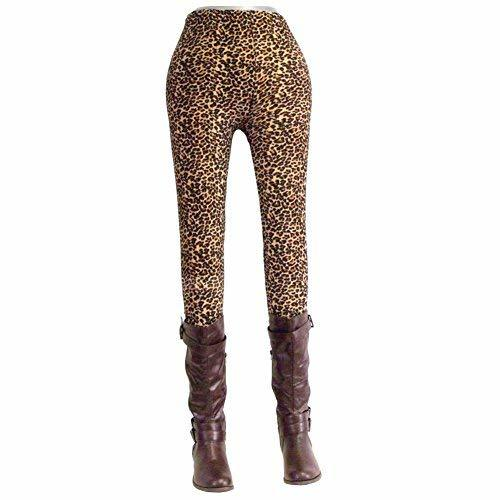 Primary image for [Leopard] Fashion Women's Legging New Novelty Footless Tights Skinny Pants Stret