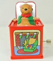 Hallmark Keepsale Pop! Goes The Teddy Bear Jack in the Box Memories 2006 - $19.79