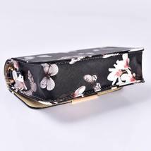 Women Floral Shoulder Bag Small Messenger Bag Retro Butterfly Clutch Tote Purse image 6
