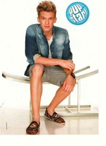 Cody Simpson teen magazine pinup clipping shorts One Crazy Cruise Popstar - $1.50