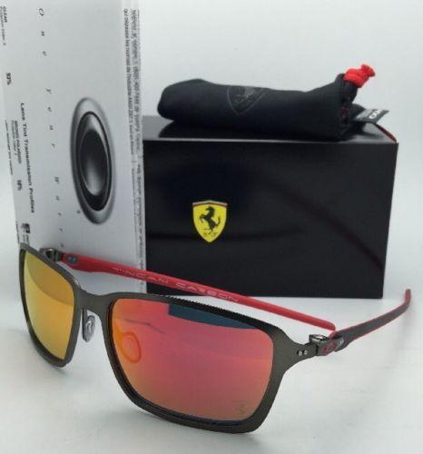 e5f38b93c7 12. 12. Previous. OAKLEY Sunglasses Scuderia FERRARI Edition TINCAN CARBON  OO6017-07 Gunmetal-Red