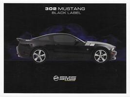 2011 Saleen SMS 302 MUSTANG SC Black Label sales brochure sheet card 11 - $9.00