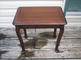 Walnut Bench or Side Table / End Table  (T229) - $166.50