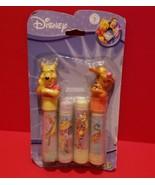 Disney Pooh Chalk Set 4 Stick Pieces Coloring Activity Winnie Tiger Topp... - $9.49