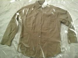 Harley Davidson  Beige Denim Button-up Jacket Shirt Size XS Cute - $27.71