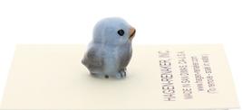 Hagen-Renaker Miniature Ceramic Bird Figurine Blue Tweetie Pa, Ma & Baby Set image 6