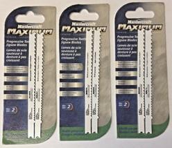 Mastercraft 54-0903-4 Maximum Progressive Tooth Jigsaw Blades 3 Packs of 2 - $3.86