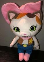 "Disney Junior Sheriff Callie's Wild West Cat Stuffed Animal Plush Toy 13"" - $11.70"