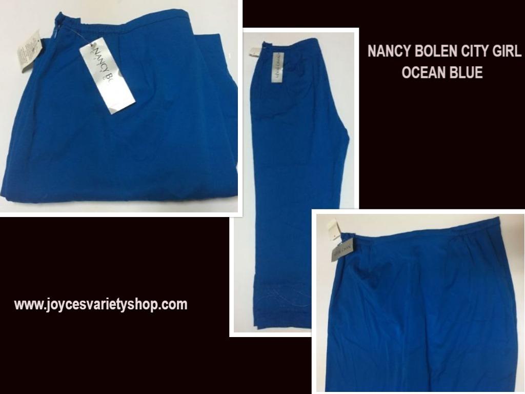 Nancy bolen blue pants web collage