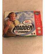 Madden NFL 2000 N64 Nintendo 64 Complete with Box and All Inserts. - $12.86
