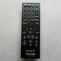 Sony RMT-D187A DVD Player Remote Control - $19.39