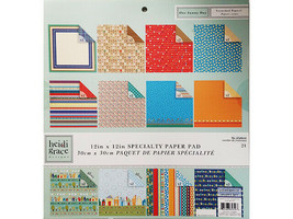 Heidi Grace Designs Specialty Paper Pad 12x12, Double-Sided, 24 Sheets