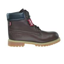 Levi's Harrison LE Men's Water Resistant Nubuck Boots Brown 516714-01B - $73.95