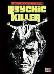 PSYCHIC KILLER-70s Horror-Paul Burke-Jim Hutton NEW DVD