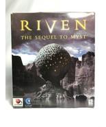 Riven: The Sequel to Myst (Windows/Mac, 1997) Big Box Complete w/ Strate... - $8.22