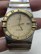 mens omega constellation watch Yellow Gold Stainless Steel - $1,516.28