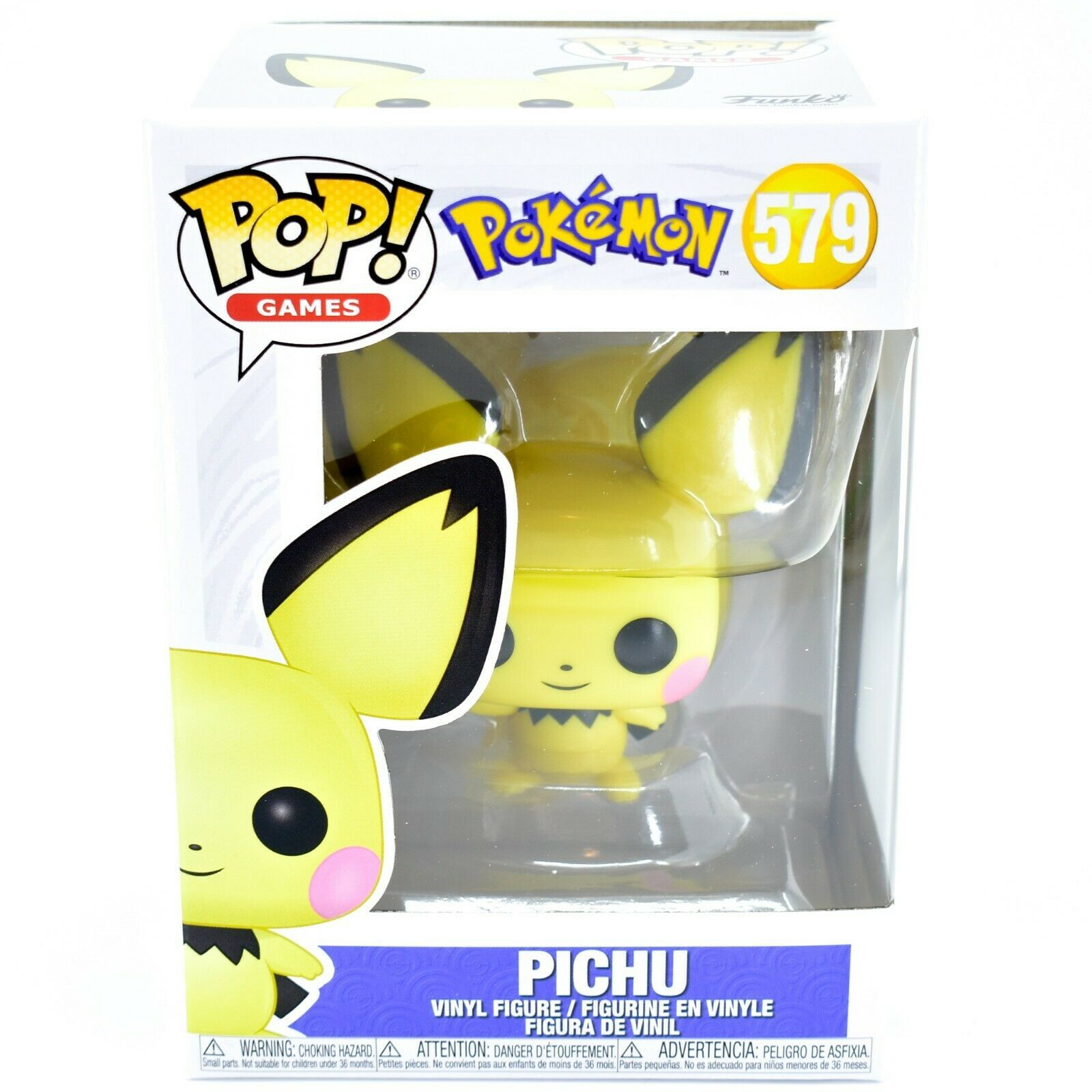 Funko Pop! Games Pokemon Pichu #579 Vinyl Action Figure
