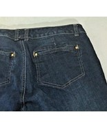 Women's Jeans Size 8 Embellished Cotton Tommy Hilfiger Blue Straight  - $14.84