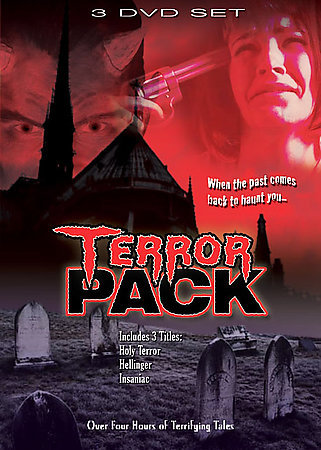TERROR PACK: Holy Terror-Hellinger-Insaniac - NEW 3 DVD