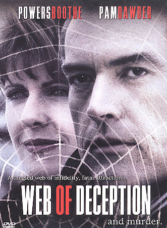 WEB OF DECEPTION - Powers Booth & Pam Dawber - NEW DVD