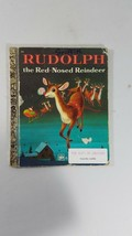 "Golden Book ""RUDOLPH THE RED-NOSED REINDEER"" - 1973 - HB/  richard scarry - $2.97"