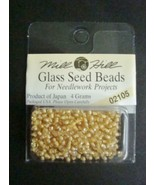 Mill Hill Glass Beads for Needlework Projects 0... - $1.25