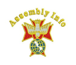 Knights of Columbus 4th Degree with Assembly Info KofC Embroidered Polo Shirt - $34.95+